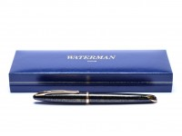 1997 Waterman Carene/CARÈNE Shimmer Sea Garden Green 18K F Fine Nib Fountain Pen France