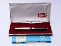 MONTBLANC 72 Masterpiece Meisterstuck Rolled Gold EF Extra Fine Flex Nib Fountain Pen