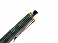 Vintage Rare 1950s Pelikan 450 Tortoise Green & Gold Filled Trims Repeater 1.18mm Lead Mechanical Pencil
