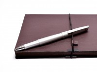 NOS New Rotring Freeway Silver Metal Body Matte Satin Finish Rollerball Pen In Box  S0212680 R074516