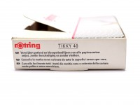 Rotring Tikky 40 One Pencil Trace Remover Eraser in Plastic Cover