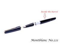 Vintage Montblanc No.121, 126, 220, 221, 224, 225, 227 & 320 Fountain Pen Piston Silicone Cork Seal & Rod Part Spare Repair