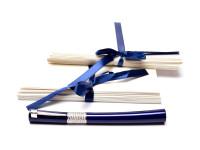 NOS New Rare Waterman Dark Blue Navy Luminous Envelope & Pen Foldable Box Holder Set 20 Envelopes & Cards Included