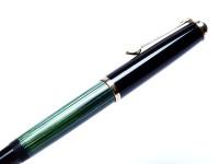 elikan 400NN 400 Tortoise Green Gunther Wagner Fountain Pen