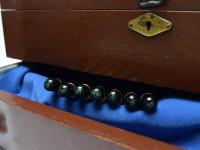 Original Never Used 1937 ('38 '39 '40) Pelikan 100 Celluloid & Ebonite All Black & Green EEF to BB Super Flexible CN Nib Piston Fountain Pen From an Amazing Attic Find