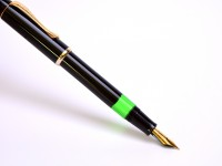 1970s Classic Senator Regent Model #0490 Piston Fountain Pen M Medium Nib