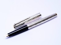 Bolascrip Fountain Pen Solid Sterling Silver 835 Germany