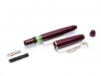 Pelikan 140 Burgundy Maroon Bordeaux Red Gunther Wagner Fountain Pen