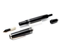 Rare 1950s East Germany OVERSIZE GARANT ALKOR EF Semi Flex Nib Large Fountain Pen