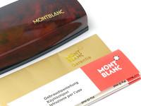 MONTBLANC No. 220 Fountain Pen Matte Brushed Gold OB Oblique Broad Nib