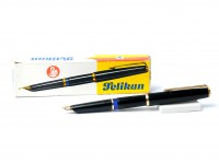Pelikan Black MK10 Airplane Safe Black EF Nib Fountain Pen In Box