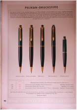 Rare 1950s Pelikan 450 All Black & Gold Filled Trims Repeater Mechanical Pencil 1.18mm Lead