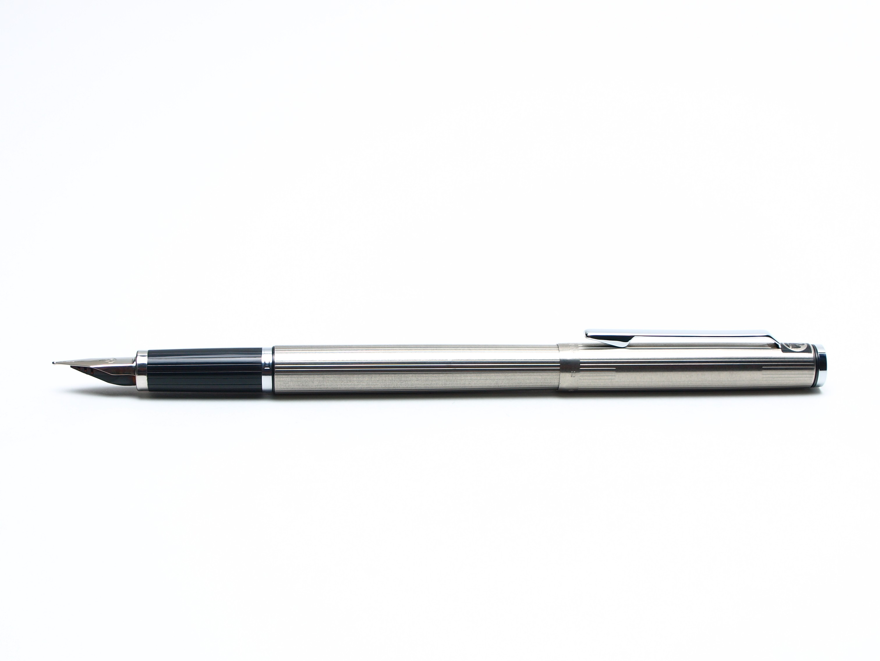 1970 S Pelikan Signum P540 Stainless Steel Matte Fountain