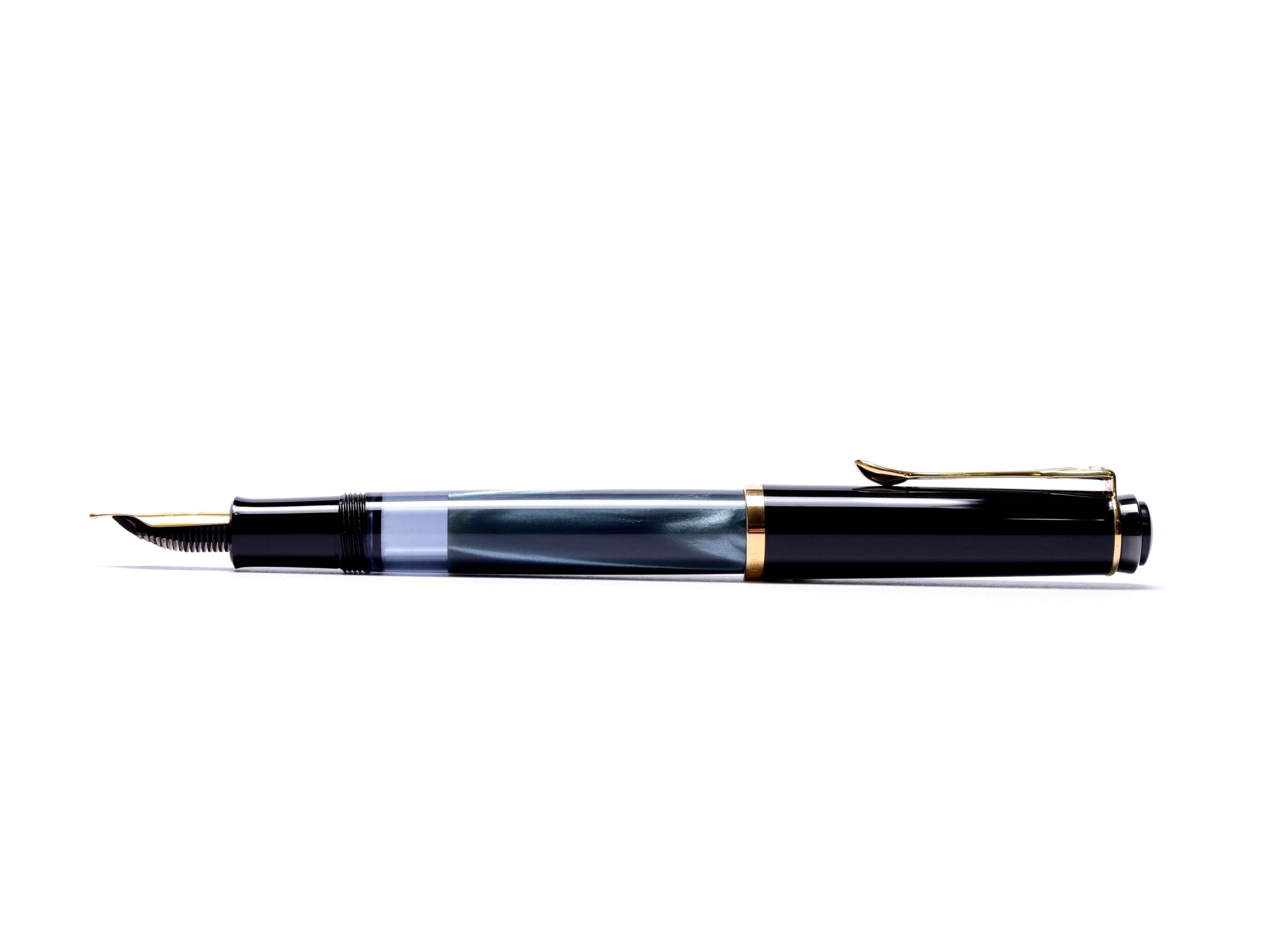 1997 2003 Vintage Pelikan M200 Black Amp Blue Marble M